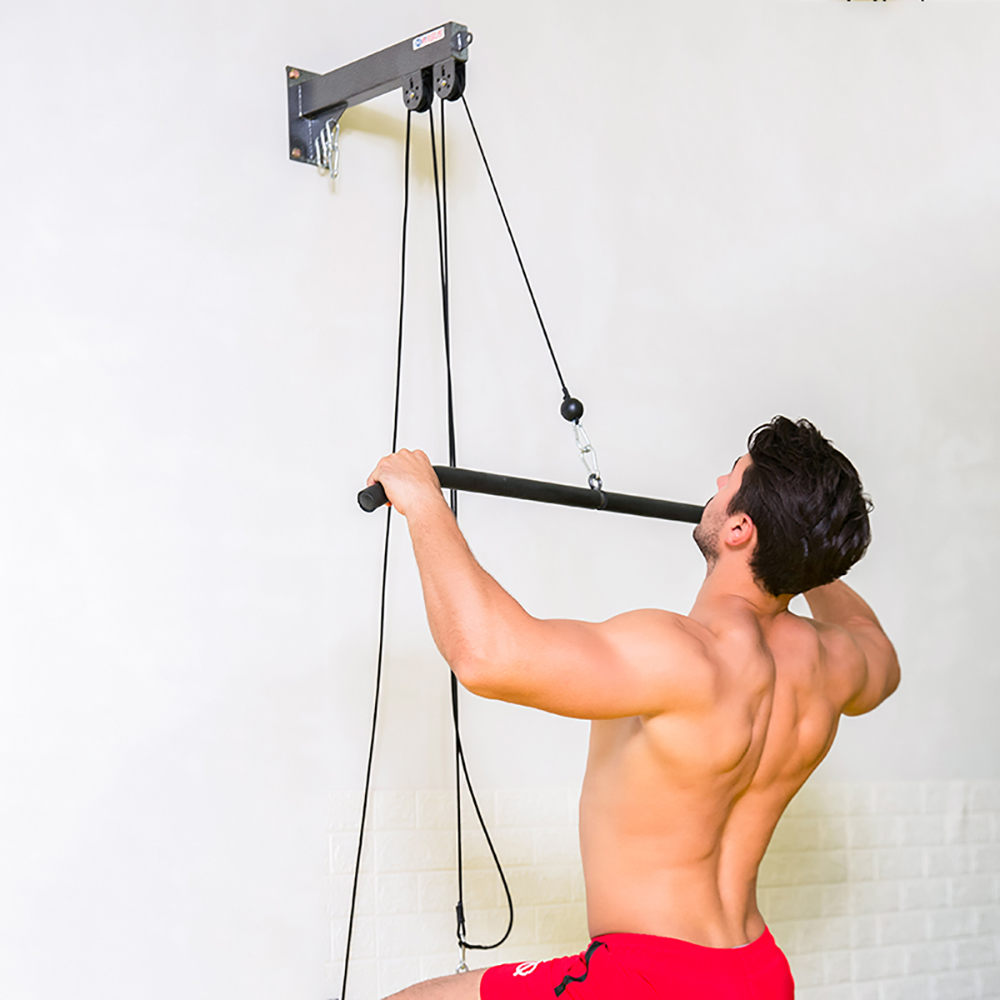 Weight Lifting Tricep Rope Gym Pulley Machine Cable Attachment