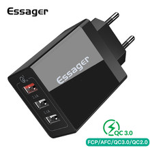 Essager USB Charger QC3.0 30W Quick Charge 3.0 Wall Charger untuk iPhone Xiaomi Samsung Fast Charger Ponsel Charger adaptor(China)
