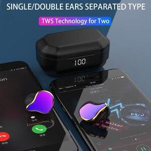Image 3 - QCR G01 Draadloze Hoofdtelefoon 5.0 TWS Bluetooth Oortelefoon Echte Draadloze Stereo Oordopjes Sport Handsfree Oortelefoon Met Opladen Mic