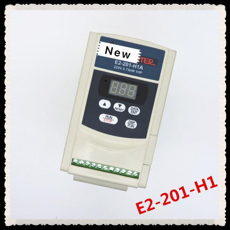 Taian inversor E2-201-H1 0.75 KW 220 v pacote figura física tem bom teste!