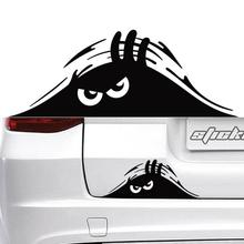 Waterproof Self-adhesive Car Sticker Scratch Cover Decal Auto Decoration Funny Peeking 3D Big Eyes Sticker Car Styling