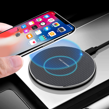 Olaf 18W Qi Wireless Charger Receiver for iPhone Xs Max X 8 Plus Fast Charging Pad for Samsung Note 9 S10 Plus chargeur sans fil 1
