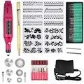Набор инструментов для гравировки из 70 деталей, многофункциональная электрическая ручка для гравера, инструмент для рукоделия, вращающийс...