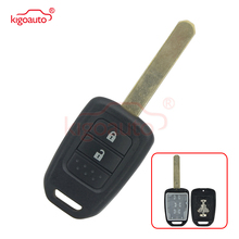 цена на Kigoauto Remote car key case shell 2 button HON66 for Honda Jazz