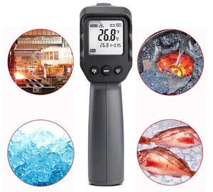 Image 5 - Цифровой инфракрасный термометр 50 ~ 380/550/750/1100/1300/1600 градусов одиночный/двойной лазерный Бесконтактный термометр пистолет термометр