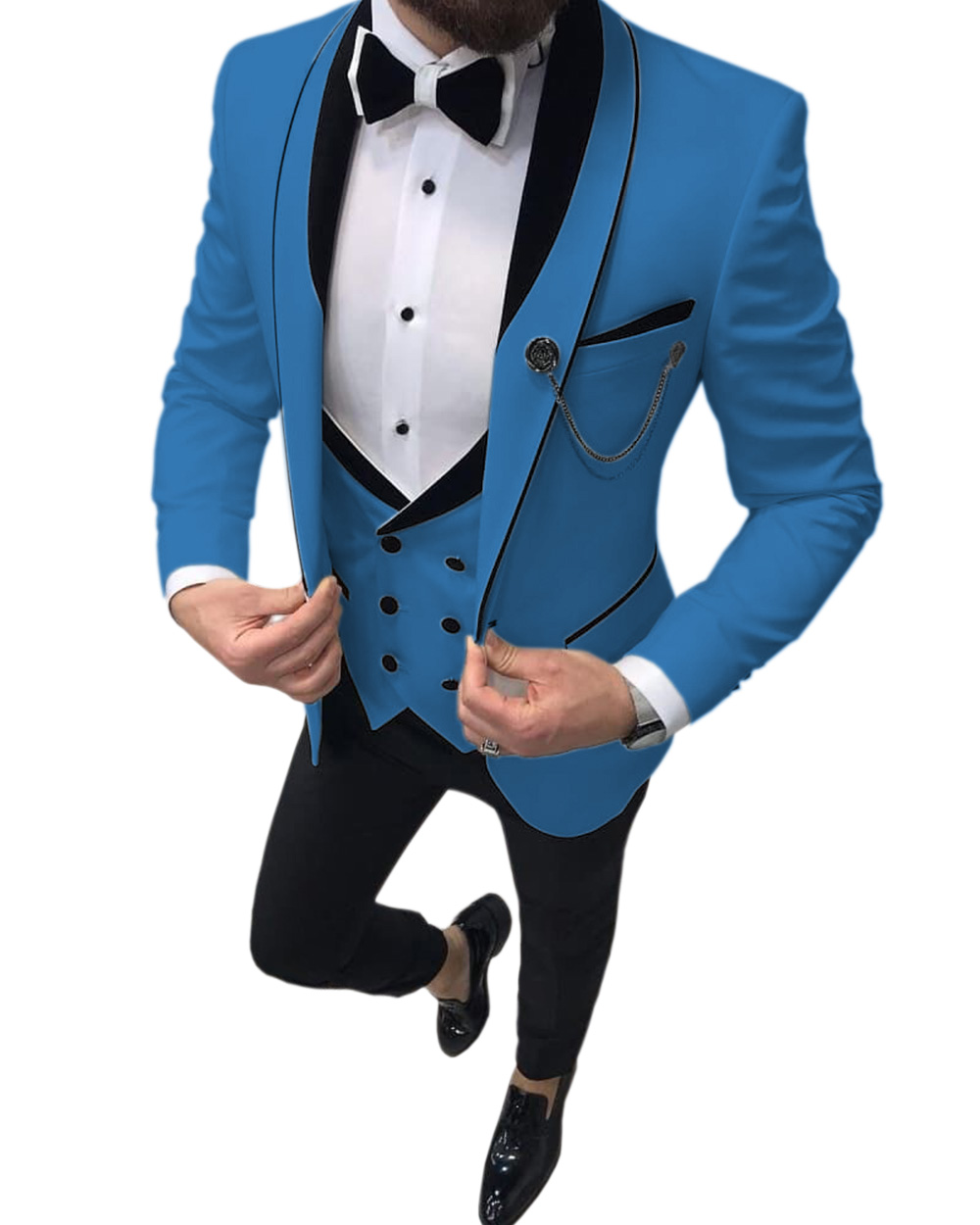 Men-s-Suits-Slim-Fit-3-Piece-Prom-Tuxedos-Shawl-Lapel-Double-Breasted-Vest-Tuxedos-Blazer (1)