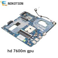 NOKOTION Para Samsung NP355 NP355C4C NP355V5C Laptop Motherboard LA-8863P QMLE4 BA59-03567A BA59-03567B Soquete fs1 HD 7600M GPU