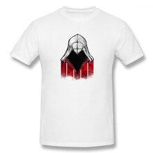 цена Assassin Creed Hat Casual O-Neck Men's Basic Short Sleeve T-Shirt 100% Cotton Tee Shirt Printed men clothes 2019