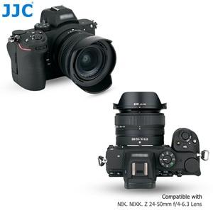 Image 5 - HB 98 lentes reversibles Hood sombra con 52mm UV filtro para Nikon NIKKOR Z 24 50mm f/4 6,3 lente Nikon Z5 Z6 Z7 Z6II Z7II Cámara