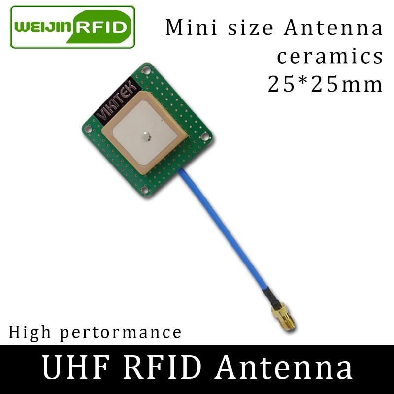 UHF RFID 902-928MHz Small Antenna VIKITEK VA25 Circular Polarization Gain 1.5DBI Short Distance
