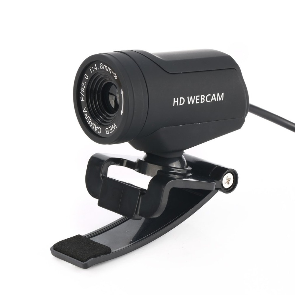 A7220C HD Webcam CMOS Sensor Web Computer Camera Built-in Microphone USB Plug and Play for Desktop PC Laptop for Video Calling