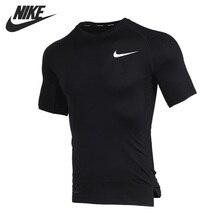 Original New Arrival  NIKE AS M NP TOP SS TIGHT Men's T-shirts short sleeve Sportswear цена 2017
