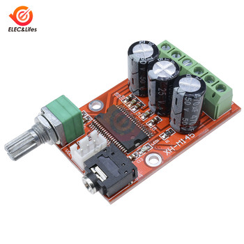 Dual Channel YDA138-E Digital Audio Amplifier Board 12W*2 Stereo Audio Amplifiers DIY Sound System Speaker Home Theater XH-M145 image
