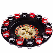 Novelty Turntable 16 Cup Glass Wine Party Supplies Drinking Game Bar Wine Glass Bottle Party Entertainment Russian Turntable electric turntable novelty drinking game adults bachelorette party supply traditional games for camping hiking accessories