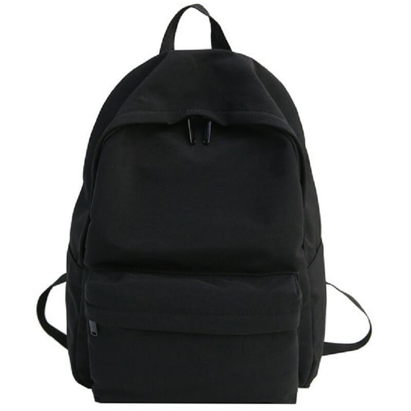 Student Canvas Backpack Female Cotton Shoulder Women Vintage School Bag Teenage Girl Cute Backpacks Fashion Luxury Bookbag