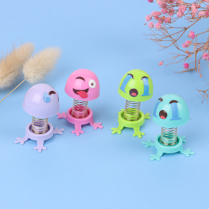 3Pcs/lot Children Toys Product Car Decoration Spring Ornaments Shaking Head Doll Expression Pack
