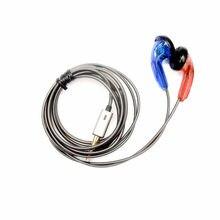 FENGRU DIY Rot Blau Tingo TC200 Ohrhörer Kopfhörer HiFi Noise Cancelling Ohrhörer Flache Kopf kopfhörer Pk Mx985 Hifi Bass Sound ohrhörer