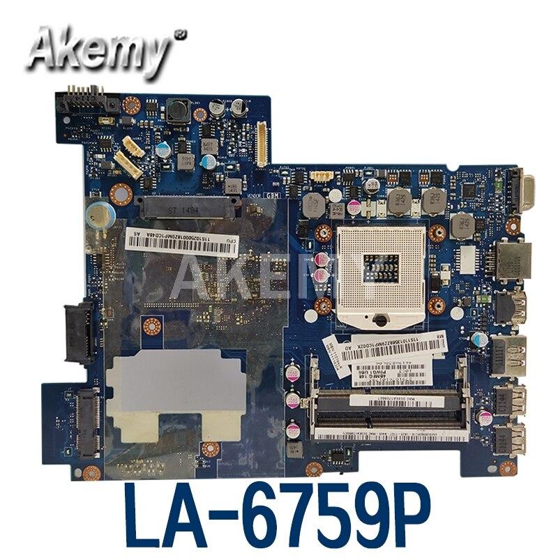 Материнская плата для ноутбука Lenovo G470 HM65 11013568, материнская плата для ноутбука PIWG1 LA-6759P