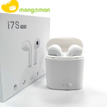 Mangoman i7s Tws Wireless Headphones Bluetooth Earphones Air Earbuds Handsfree in ear Headset wireless bluetooth headphones