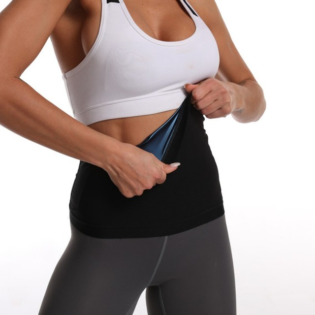 Neoprene Lumbar Waist Trimmer Belt Weight Loss Sweat Band Wrap Fat Tummy Stomach Sauna Sweat Belt For Gym Fitness hot 5