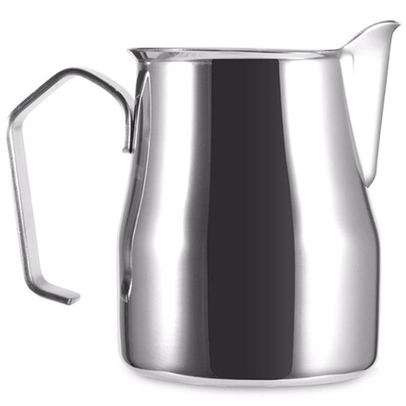 TOP! 304 Stainless Steel Milk Foam Pot Thick Coffee Milk Foam Cup Italian Latte Art Pot Milk Pitcher Foam Cup 750Ml|Coffee Art Needles| |  - title=