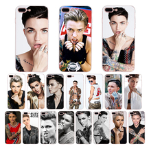 HOUSTMUST Ruby Rose photo Soft silicone phone case for iphone x xr xs max 10 7 8 6s 6 plus 5s 5 se cover shell Coque Funda Capa