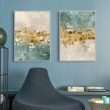 Pintura em tela minimalista nordic arte da parede imagem para decoração do quarto na moda cartaz abstrato decoração de interiores pintura da parede
