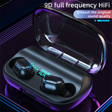 T11 TWS Bluetooth 5.0 Headset True Wireless Noise Reduction Earphone 9D Surround Stereo Movement