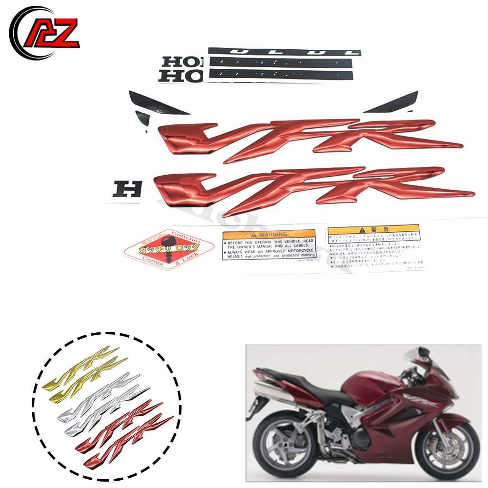 Motorcycle 3D CBR LOGO Badge Gel Mark Decals Fairing Stickers Honda CBR 1000RR