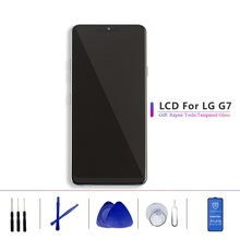 Original 6.1LCD For LG G7 LCD G710 G710EM G710PM G710VMP Display Touch Screen Assembly Digitizer Frame thinQ