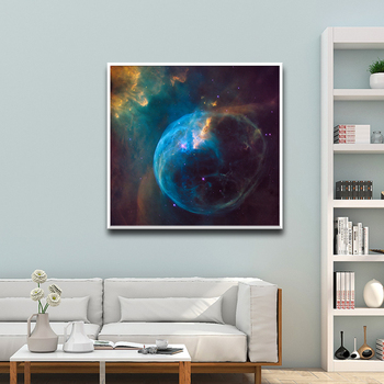Nordic Planet Wall Art Canvas Poster Print Nordic Style Wall Paomtomg For Office Decor Wall Picture Modern Decor image