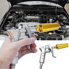 تورنادو مسدس نفخ الهواء للسيارة ، أداة تنظيف الغبار ، منفضة الهواء ، بخاخ من سبائك الألومنيوم ، مرن