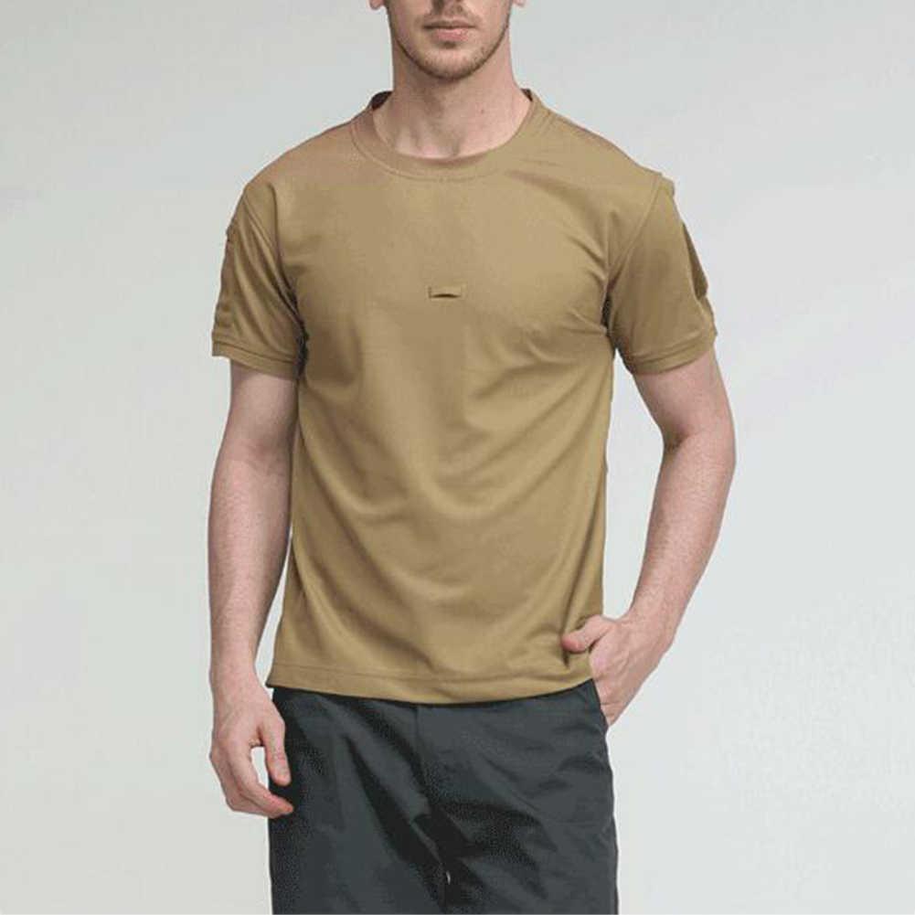2020 夏新高品質男性tシャツ無地男性通気性速乾半袖oネックtシャツ夏トップ