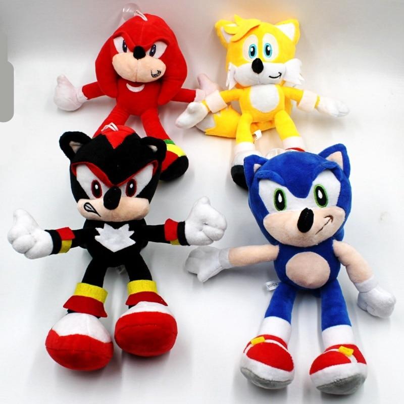 Cartoon Sonic Plush Toy  The Hedgehog Stuffed Animals Toy