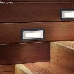 IP65 Светодиодный светильник для лестницы, водонепроницаемый алюминиевый светодиодный светильник LG для наружного освещения 3 Вт для огражде...