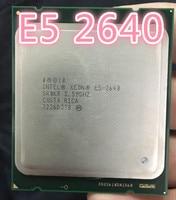 CPU Intel Xeon Processor E5 2640 Six Core 15M Cache/2.5/GHz/8.00 GTs 95W LGA 2011 E5 2640 Desktop Processor