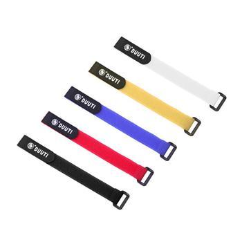 1PC rower nylonowy haczyk taśma na rzep samoprzylepny pasek przewód rowerowy wątek Tie butelka z pompką Band latarka rowerowa bandaż tanie i dobre opinie CN (pochodzenie)