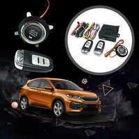 9Pc diy Auto SUV Keyless Entry Motor Starten Keyless Alarm System Push Button Remote Starter Stop Autos Auto Auto zubehör