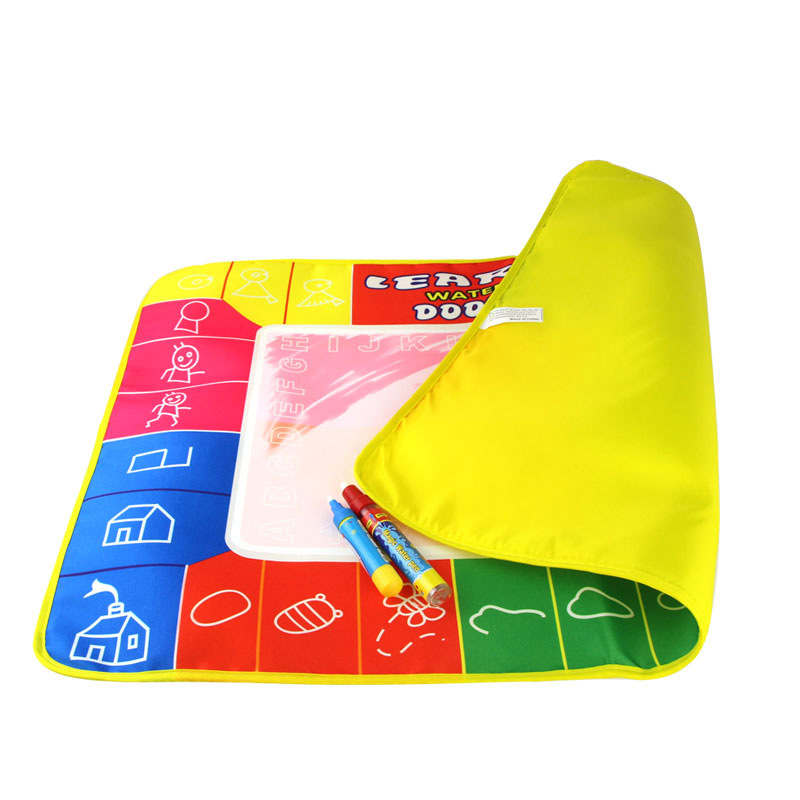 74*49 Water Magic Water Canvas Drawing Board Water Writing Blanket Graffiti Blanket Doing Homework Blanket Children Early Childh