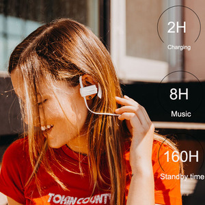 Image 2 - 2pcs/lot GGMM W600 Bluetooth Headphone IPX4 Sweatproof Wireless Headphones Headset with Mic Sport Earphone For iPhone Xiaomi
