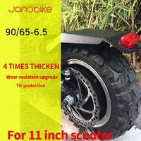 janobike Truck Tires & Wheel Rim With Nylon Lock Nut For Exceed Infinity EP 1/10 Scale Electric Monster Parts