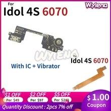 Wyieno 6070 Moederbord Lint Vervangende Onderdelen Voor Alcatel Idol 4S OT6070 Moederbord Lcd Connector Belangrijkste Flex Kabel + Tracking
