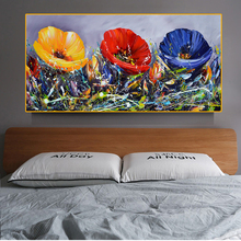 Colorful Flower Canvas Paintings On The Wall Art Posters And Prints Flowers Canvas Art Wall Pictures For Bed Room Cuadros Decora kitchen theme wall poster and prints various seasonings canvas art paintings on the wall canvas art pictures cuadros decoration