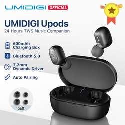 UMIDIGI Upods TWS Bluetooth 5,0 беспроводные наушники Автоматическое Сопряжение Noice снижение с зарядным устройством