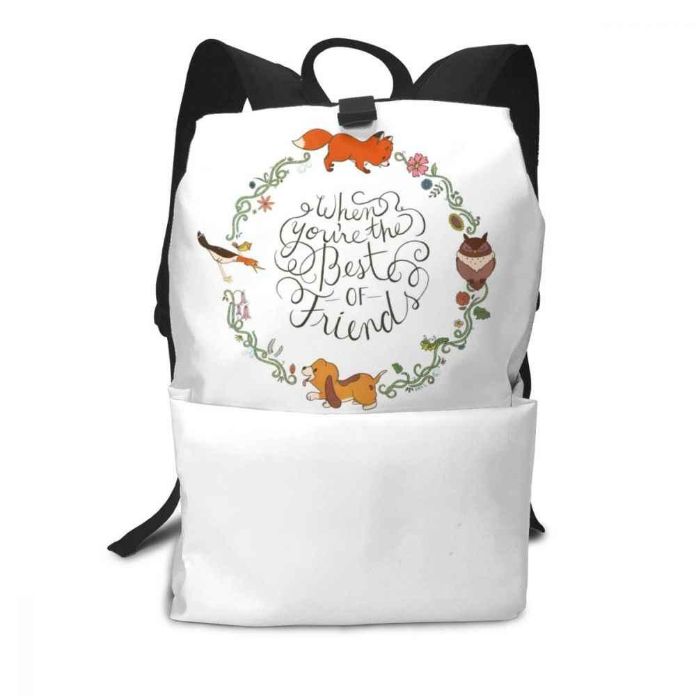 Рюкзак с лисой, рюкзаки с лисой, уличная многофункциональная сумка для мужчин и женщин, мужская сумка с рисунком, высокое качество, трендовые сумки для подростков
