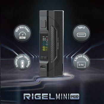 SMOK Rigel – Mini vaporisateur de cigarettes électroniques 80W, Support 3ml TFV9, Mini réservoir V9, fil 510, boîte 18650