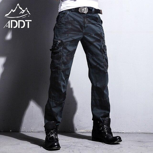 Jeans militaires européens, pantalon de Camouflage pour homme, nombreuses poches, Style militaire tactique des Forces masculines