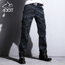 Production European American Army Pants Jeans Camouflage Pants Mens Trousers Many Pockets Male Forces Tactical Military Style