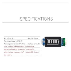 Image 5 - סוללה קיבולת מחוון לdji Mavic מיני סוללה כוח עם LED תצוגה עבור DJI Mavic מיני תמיכה 4 רמת כוח תצוגה