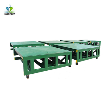 Cargo Loading and Unloading Auxiliary Equipment Hydraulic Ramp for Transportation